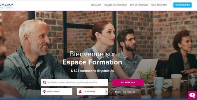 OPCALIA – Développement de l'offre de formation sur le canal digital