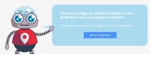 Chatbot Nexity pour suivre le projet immobilier