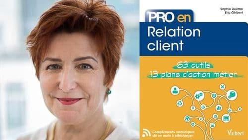 Sophie Duême sort son livre dédié à la relation client