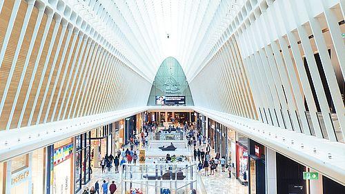 Ceetrus, construction de persona en centre commercial