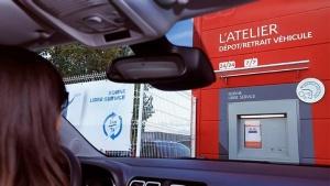 Borne de dépôt véhicule Peugeot