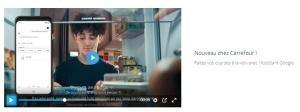 Partenariat entre Carrefour et l'Assistant Google